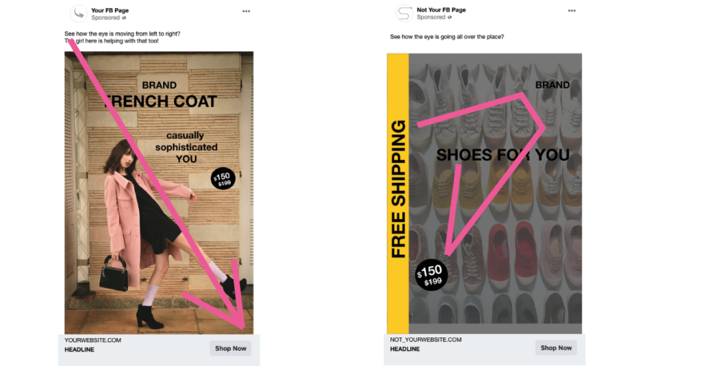 ecommerce best practices ad example