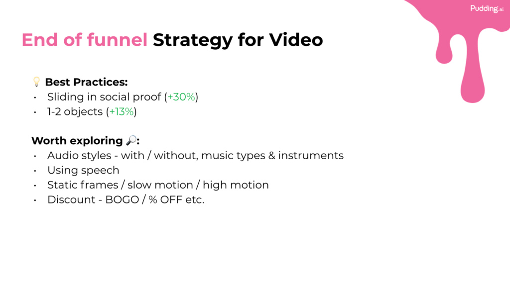 end of funnel strategy for video